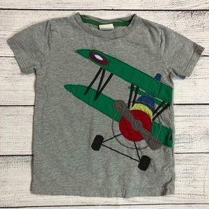 Mini Boden Airplane Shirt